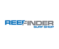 reef finder surf shop logo