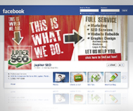 jupiter seo facebook cover