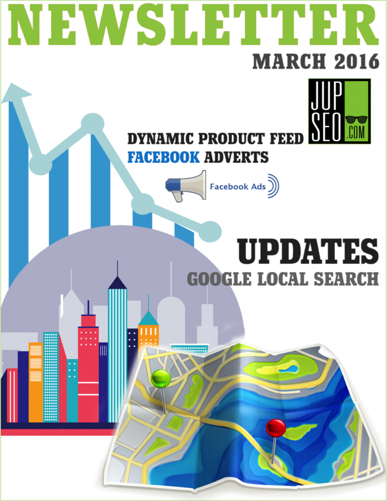 Jupiter SEO March 2016 Newsletter