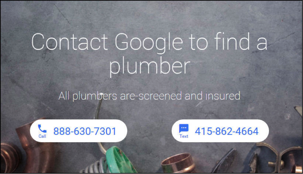 Google advertisement example